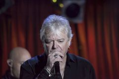 Lead singer Russell Hitchcock and Graham Russell of Air Supply p. NEW YORK, NEW YORK, USA - OCTOBER 13: Lead singer Russell Hitchcock andGraham Russell of Air Royalty Free Stock Image