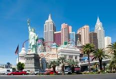 New York - New- Yorkhotel u. Kasino, Las Vegas Lizenzfreies Stockfoto