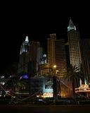 New York, New- Yorkhotel u. Kasino, Las Vegas, Nanovolt Lizenzfreie Stockfotos