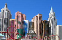New York - New- Yorkhotel und Kasino Lizenzfreie Stockfotos
