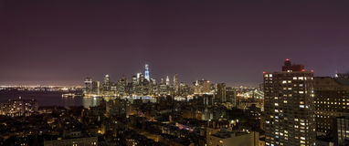 New York by night Stock Photos