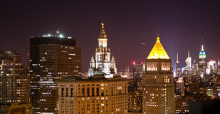 New York at night Royalty Free Stock Photography