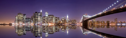 New York at night Stock Image