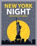 New york night Royalty Free Stock Photo