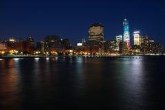 New York night Royalty Free Stock Photos