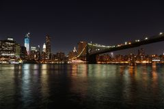 New York night Stock Photography