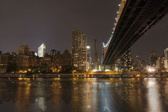 New York by night - Midtown of Manhattan Stock Images