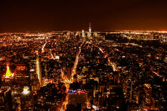 New York Night View Royalty Free Stock Images