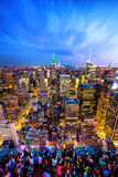 New york at night Royalty Free Stock Photo