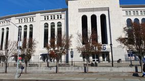 Yankee Stadium exterior and facade.