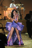 NEW YORK - NOVEMBER 10: Singer Katy Perry performs during the 2010 Victoria's Secret Fashion Show Stock Photography