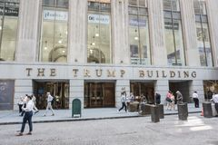 The Trump Building Stock Image