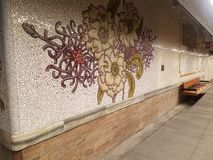 New York, NY Etats-Unis, le 16 janvier 2019 : a nouvellement rouvert la station de métro, station de rue de MTA 28ème sur la lign photos libres de droits