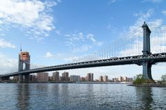 New York, NY, Etats-Unis - 6 mai 2017 Pont de Manhatann Images stock