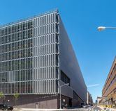 New York NY/Förenta staterna: DSNY-garage arkivbilder