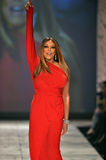 NEW YORK, NY - FEBRUARY 06: Wendy Williams wearing Kamali Kulture walks the runway at The Heart Truth's Red Dress Collection durin. G Fall 2013 Mercedes-Benz Stock Image