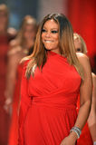 NEW YORK, NY - FEBRUARY 06: Wendy Williams wearing Kamali Kulture walks the runway at The Heart Truth's Red Dress Collection durin Stock Photography