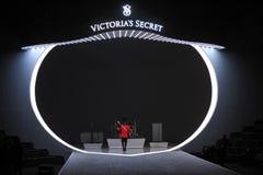 NEW YORK, NY - NOVEMBER 13: British military drummers opening British invasion segment of 2013 Victoria's Secret Fashion Show Stock Photo