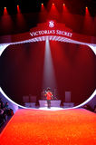 NEW YORK, NY - NOVEMBER 13: A general view of atmosphere at the 2013 Victoria's Secret Fashion Show Royalty Free Stock Photo