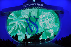 NEW YORK, NY - NOVEMBER 13: A general view of atmosphere at the 2013 Victoria's Secret Fashion Show Stock Photos