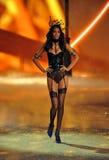 NEW YORK, NY - NOVEMBER 13: Lais Ribeiro walks in the 2013 Victoria's Secret Fashion Show Royalty Free Stock Photography