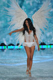 NEW YORK, NY - NOVEMBER 13: Model Adriana Lima walks the runway at the 2013 Victoria's Secret Fashion Show Stock Photos