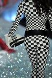 NEW YORK, NY - NOVEMBER 13: Model Barbara Fialho walks in the 2013 Victoria's Secret Fashion Show Stock Photography
