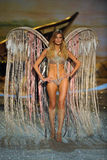 NEW YORK, NY - NOVEMBER 13: Model Constance Jablonski walks the runway at the 2013 Victoria's Secret Fashion Show Stock Photos