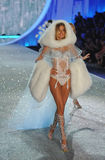 NEW YORK, NY - NOVEMBER 13: Model Doutzen Kroes walks the runway at the 2013 Victoria's Secret Fashion Show Stock Photos