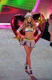 NEW YORK, NY - NOVEMBER 13: Model Ieva Laguna walks the runway at the 2013 Victoria's Secret Fashion Show Stock Photos