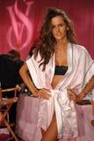 NEW YORK, NY - NOVEMBER 13: Model Izabel Goulart poses at the 2013 Victoria's Secret Fashion Show Stock Photography