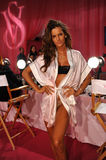 NEW YORK, NY - NOVEMBER 13: Model Izabel Goulart poses at the 2013 Victoria's Secret Fashion Show Royalty Free Stock Photos