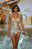 NEW YORK, NY - NOVEMBER 13: Model Karlie Kloss walks the runway at the 2013 Victoria's Secret Fashion Show Stock Photo