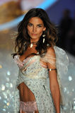 NEW YORK, NY - NOVEMBER 13: Model Lily Aldridge walks the runway at the 2013 Victoria's Secret Fashion Show Stock Photography