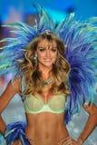 NEW YORK, NY - NOVEMBER 13: Model Lindsay Ellingson walks the runway at the 2013 Victoria's Secret Fashion Show Royalty Free Stock Images