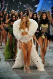 NEW YORK, NY - NOVEMBER 13: Models walk the runway finale at the 2013 Victoria's Secret Fashion Show Royalty Free Stock Image
