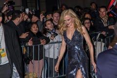 Nicole Kidman. NEW YORK, NY - NOVEMBER 27: Nicole Kidman attends the 2017 IFP Gotham Awards at Cipriani Wall Street on November 27, 2017 in New York City Royalty Free Stock Photo