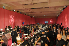 NEW YORK, NY - NOVEMBER 13: A view of atmosphere at the 2013 Victoria's Secret Fashion Show Stock Photography
