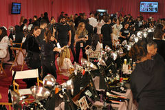NEW YORK, NY - NOVEMBER 13: A view of atmosphere at the 2013 Victoria's Secret Fashion Show Stock Image
