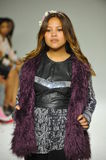 NEW YORK, NY - OCTOBER 18: Designer Cory Paglinco walks the runway during the Parsons preview at petite PARADE Kids Fashion Week Stock Photo