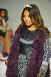 NEW YORK, NY - OCTOBER 18: Designer Cory Paglinco walks the runway during the Parsons preview at petite PARADE Kids Fashion Week Stock Photos