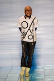 NEW YORK, NY - SEPTEMBER 06: Designer Lie Sang Bong walks the runway at the LIE SANGBONG SS 2015 Collection Royalty Free Stock Image