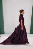 NEW YORK, NY - SEPTEMBER 08: Model Agne Konciute walks the runway at the Carolina Herrera fashion show Stock Image
