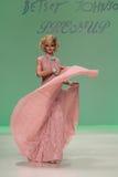 NEW YORK, NY - SEPTEMBER 10: Model Elena Foley attends Betsey Johnson fashion show Royalty Free Stock Image