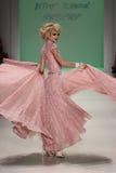 NEW YORK, NY - SEPTEMBER 10: Model Elena Foley attends Betsey Johnson fashion show Stock Image
