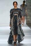 NEW YORK, NY - SEPTEMBER 05: Model Erjona Ala walks the runway at the Zimmermann fashion show Royalty Free Stock Images