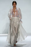 NEW YORK, NY - SEPTEMBER 05: Model Josephine Skriver walks the runway at the Zimmermann fashion show Stock Photos