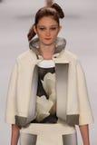 NEW YORK, NY - SEPTEMBER 08: Model Sophie Touchet walks the runway at the Carolina Herrera fashion show Stock Photography
