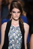NEW YORK, NY - SEPTEMBER 04: Models walk the runway finale at the Marissa Webb fashion show Stock Images