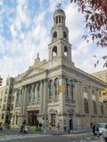 New York, NY/Stati Uniti - ottobre 29, 2014: La nostra signora della chiesa di Pompei fotografia stock
